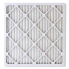White furnace air filter